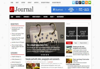 Journal Blogger Template
