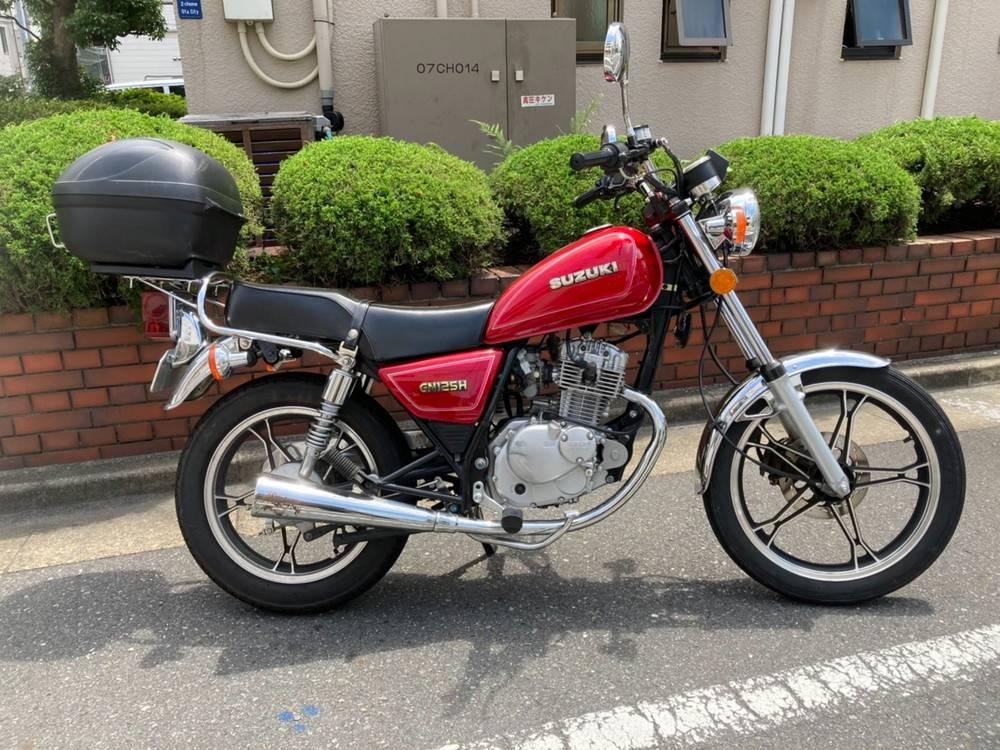 レンタルバイク GN125H