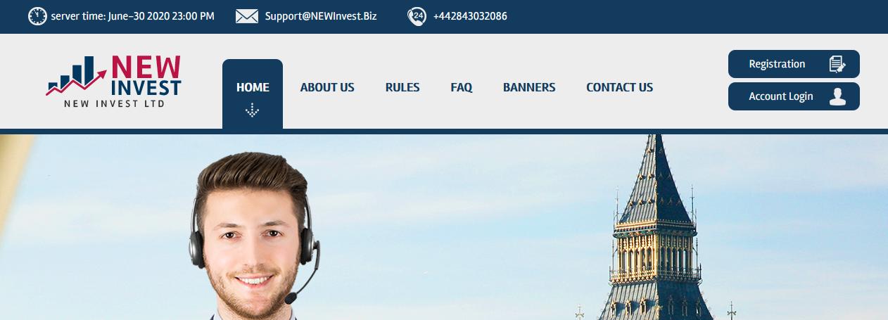 Мошеннический сайт newinvest.biz – Отзывы, развод, платит или лохотрон? Информация от PlayDengi