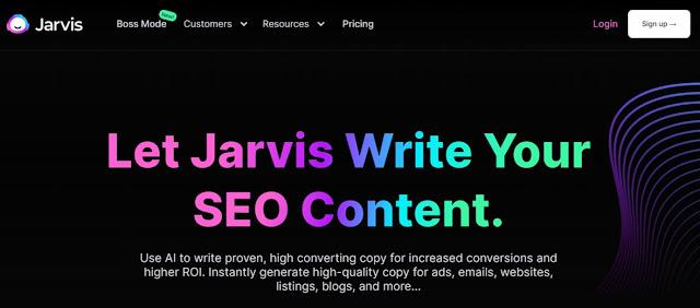 jarvis ai copywriting tool