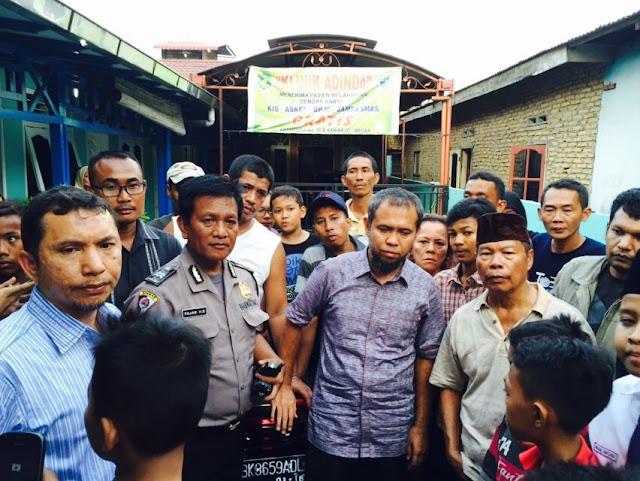 Aleg PKS Jenguk Warga dan Wartawan Korban Tindakan Refresik Oknum TNI AU