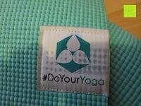 Logo verdreckt: Yogamatte »Annapurna Comfort« / Die ideale Übungs-Matte für Yoga, Pilates, Gymnastik. Maße: 183 x 61 x 0,5cm / In vielen Trend-Farben erhältlich.