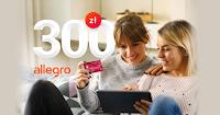 Zimowe zakupy z kartą kredytową Banku Millennium + bon Allegro 300 zł