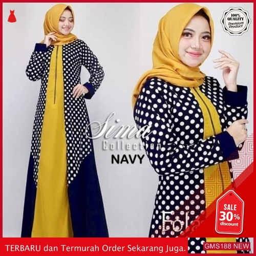 GMS188 ATLFX188B62 Baju Gamis Folana Dress Dropship SK0344427497