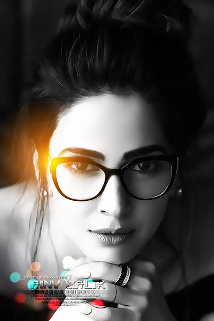 beautiful girl with glasses wallpaper