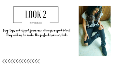 DIY: Ripped Jeans and Styling. Jeans with Cropped Top