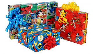 Click here to purchase Justice League Wrapping Paper Set at Amazon!