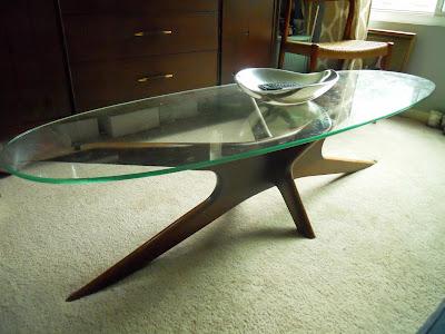 adrian pearsall craft associates coffee table