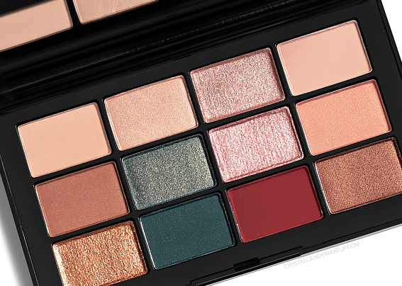 NARS Cool Crush Eyeshadow Palette Review Photos