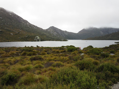 Lago Dove, en Cradle Mountain, Tasmania