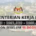 Jawatan Kosong Kementerian Kerja Raya Malaysia ~ Gaji : RM2,529.00 - RM9,643.00