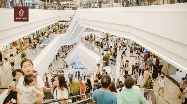 Quảng cáo wifi marketing tại trung tâm thương mại