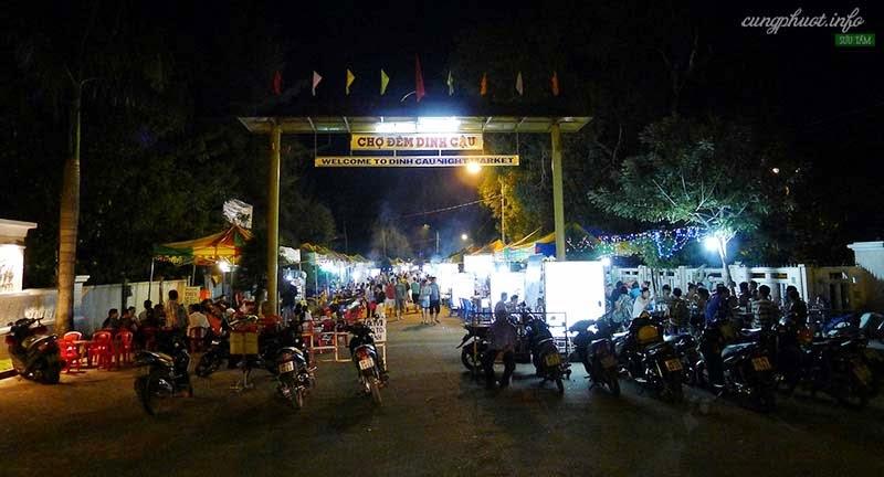 Chợ đêm Dinh Cậu, nơi ăn hải sản tuyệt vời