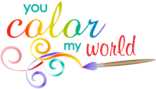 You Color My World Clip Art Oh My Fiesta For Ladies!