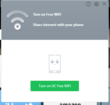 Screenshot: UC wifi initialization