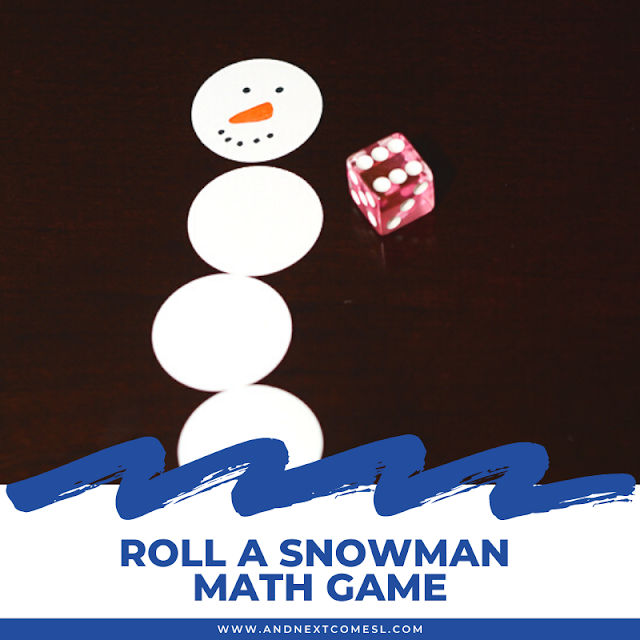 Build a snowman game that works on math skills