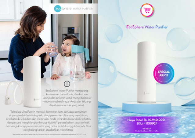 Promo Water Purifier Nu Skin EcoSphere November 2020