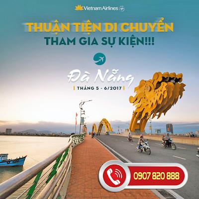 Bay cùng Vietnam Airlines và Jetstar tham dự Lễ hội pháo hoa Đà Nẵng 2017