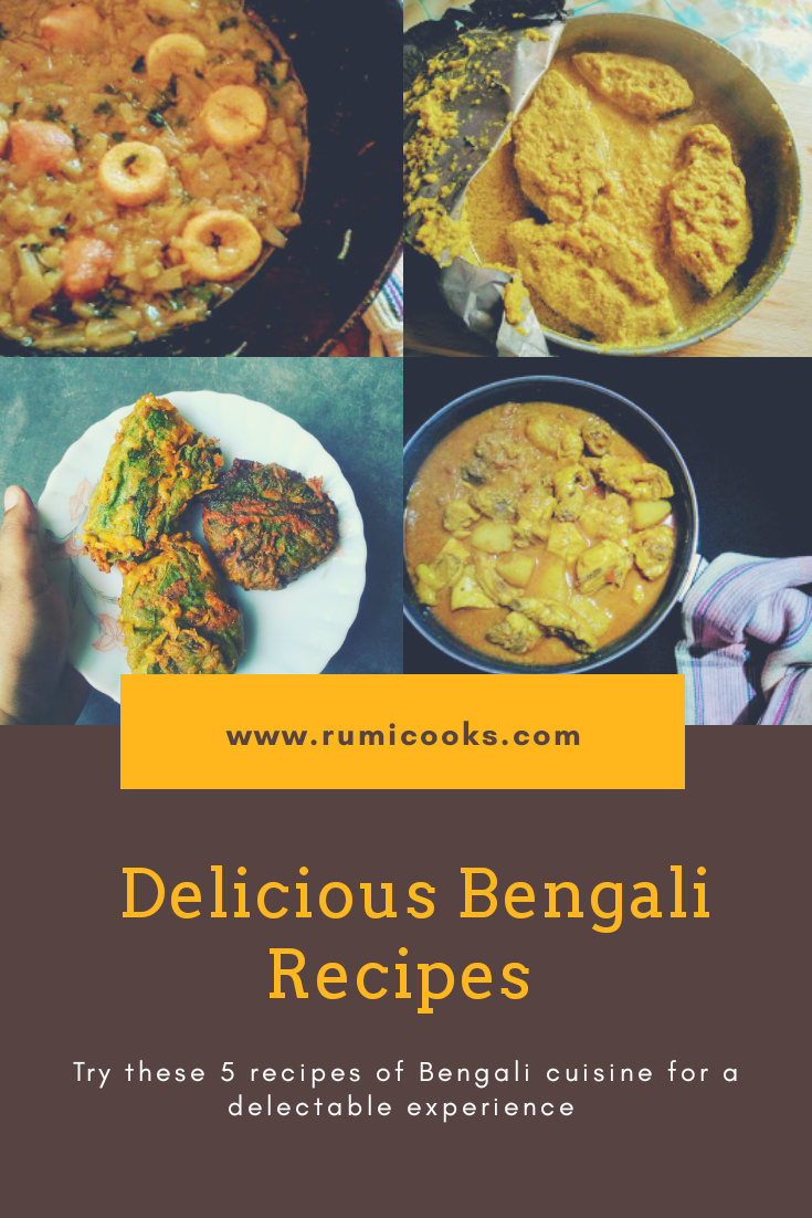 Bengali food is a combination of sweet and spicy flavour. In Bengali cuisine, the simplest of the dish gets an exquisite taste on adding different spices. In traditional Bengali recipe, spices are blend in 'sil pata' - stone grinder so that spices do not lose their aroma.   Here are 5 simple yet delicious Bengal recipes to try :