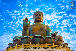 ஹாங்காங்கில் உலகிலேயே மிக உயரமான செம்பிலான புத்தர் சிலை ..!