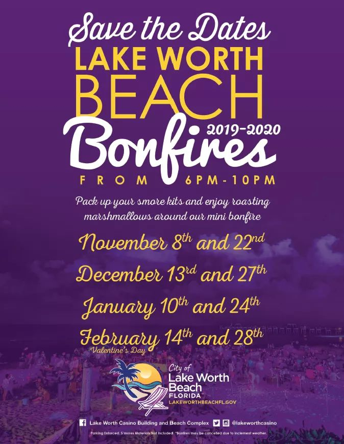 Lake Worth Christmas Parade 2020 Lake Worth Beach City Limits: Lake Worth Beach Bonfires. 2019–2020