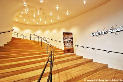 Elbphilharmonie Treppe zum großen Saal