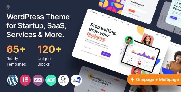 Best Startup & SaaS WordPress Theme