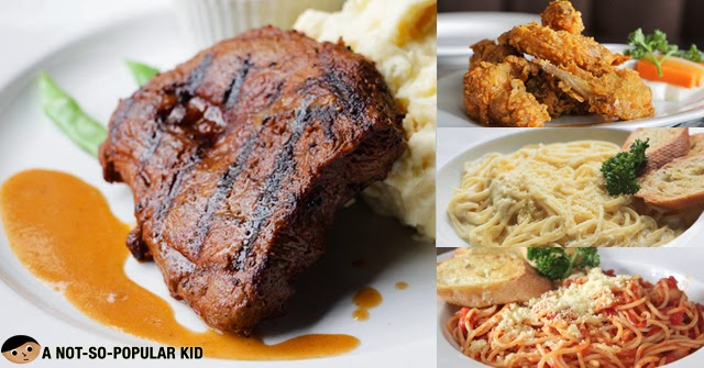 Dillinger's 1903 - Get 4 Dishes for only P180 each!