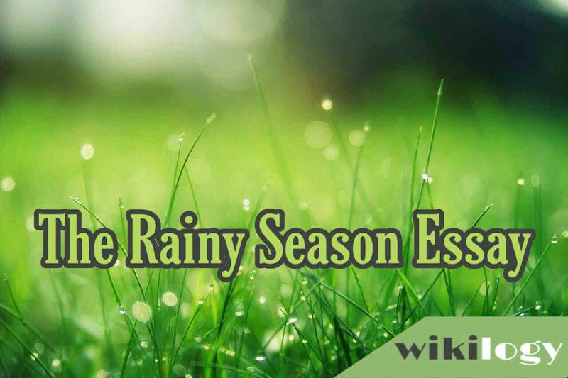 Rainy Season Essay Composition