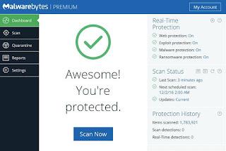Free download Malwarebytes Anti-Malware latest version