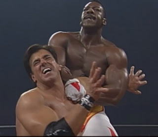 WCW SuperBrawl VIII (1998) - Booker T beat Rick Martel for the TV title