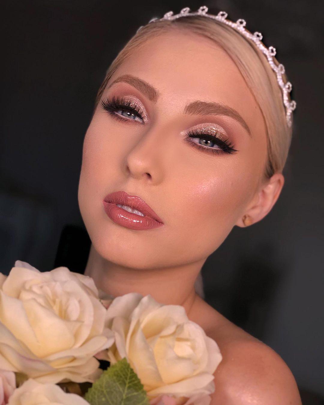 Maquiagem delicada noiva