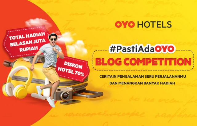 Lomba Blog OYO Hotel