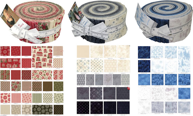 Moda Jelly Rolls from Cotton Patch UK