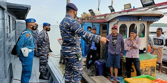 TNI AL Gagalkan Upaya Penyelundupan TKI Ilegal Dari Sumut Ke Malaysia