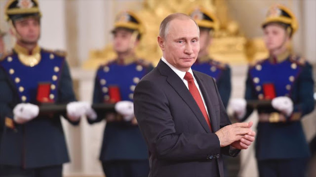 Putin: EEUU usa terroristas para desestabilizar Rusia