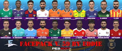 PES 2017 Facepack v59 by Eddie
