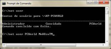 Prompt de comando do Windows