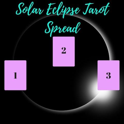 Solar Eclipse Tarot Spread and Sample Reading