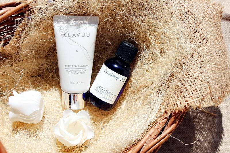 Из заказанного на iherb: очищающая пена KLAVUU Revitalizing Facial Cleansing Foam и тонер-эссенция Pyunkang Yul Essence Toner / обзор, отзывы