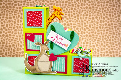 Paper Pumpkin, Be Mine Valentine January Kit, Rick Adkins, Paper Pumpkin Alternative Project