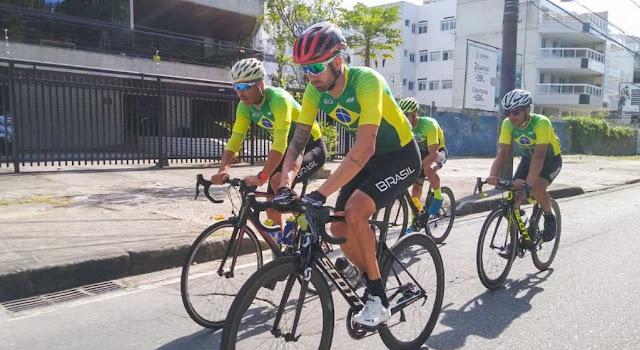Programação dos brasileiros no paraciclismo - Foto: Divulgação / CBC