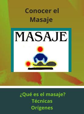 tipos o clases de masaje
