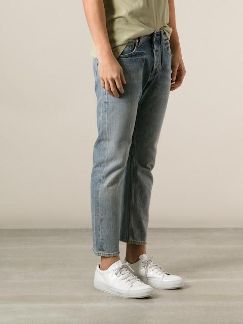 Look Masculino com calça cropped masculina jeans