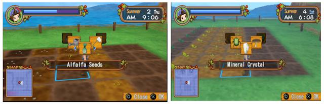 [Game PSP] Bagaimana Cara Mendapatkan Mineral Alfalfa Di Harvestmoon Hero of Leaf Valley