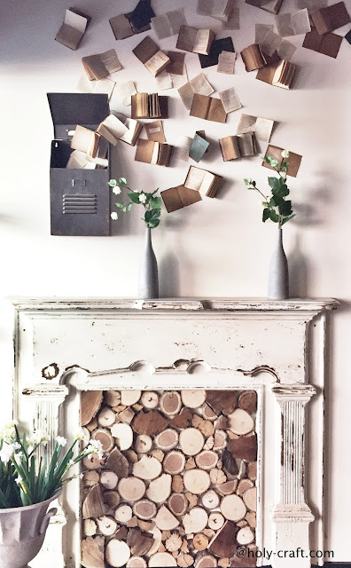 fireplace at magnolia market