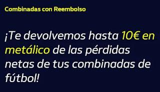 william hill Reembolso hasta 10€ real hasta 24-1-2021