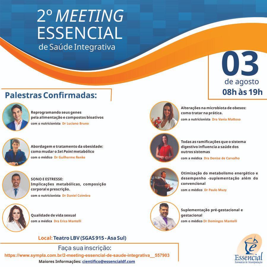 2º Meeting Essencial de Saúde Integrativa