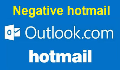 negative hotmail