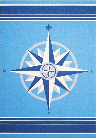 Compass Rose Rug